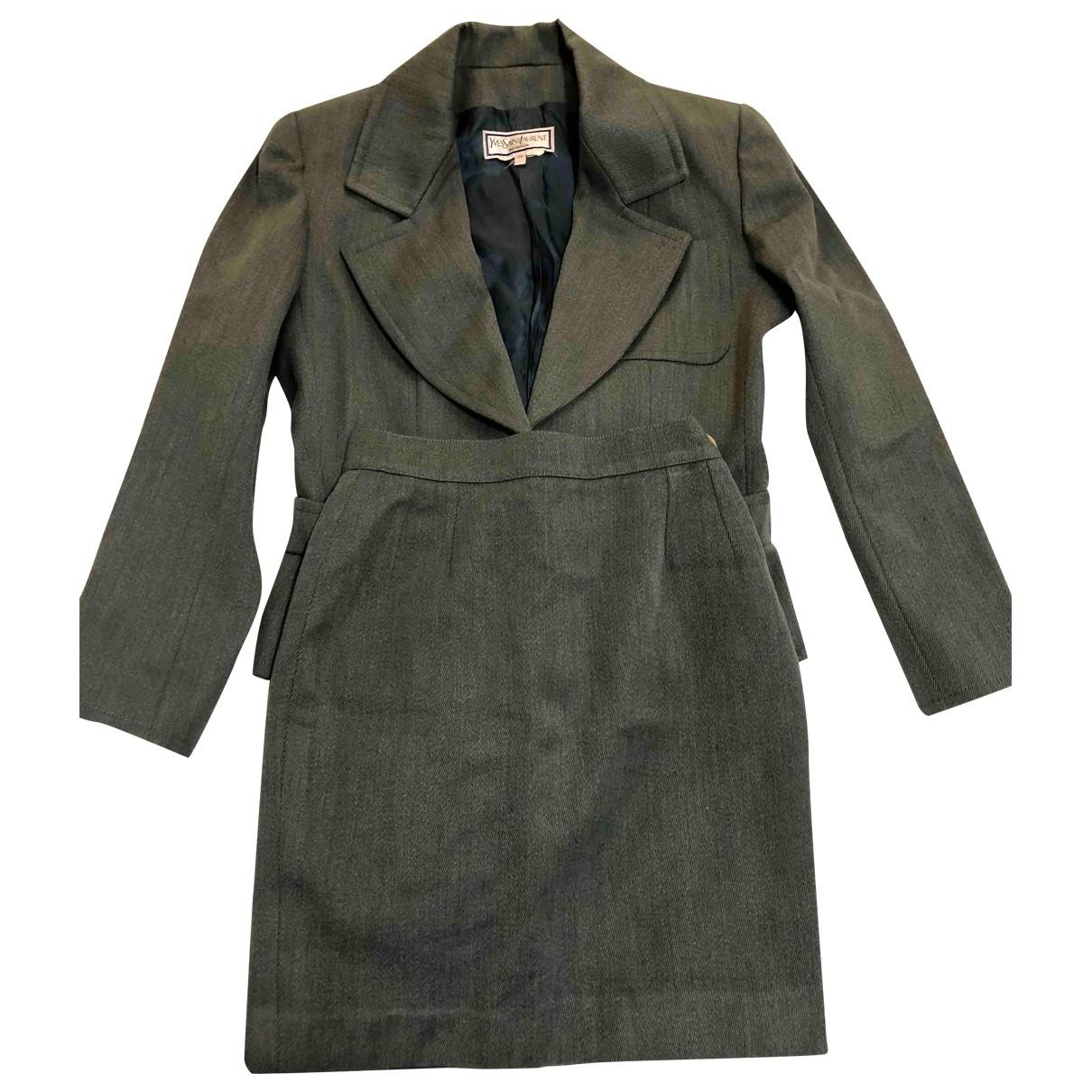 Yves Saint Laurent \N Wool jacket for Women 38 FR
