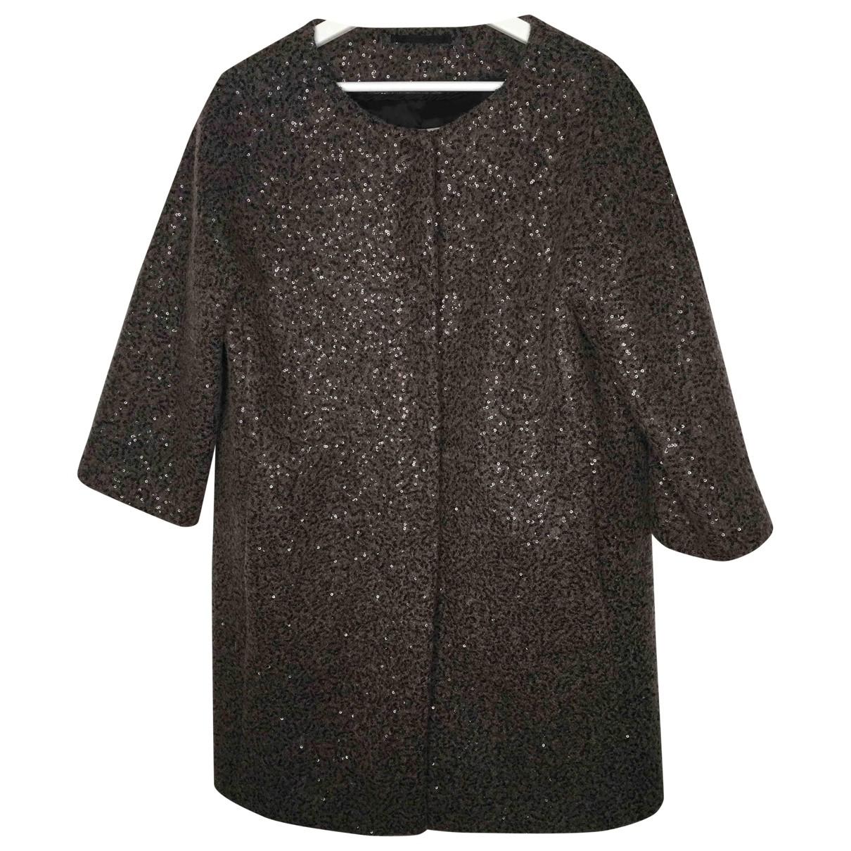 Herno \N Brown Wool coat for Women 38 FR