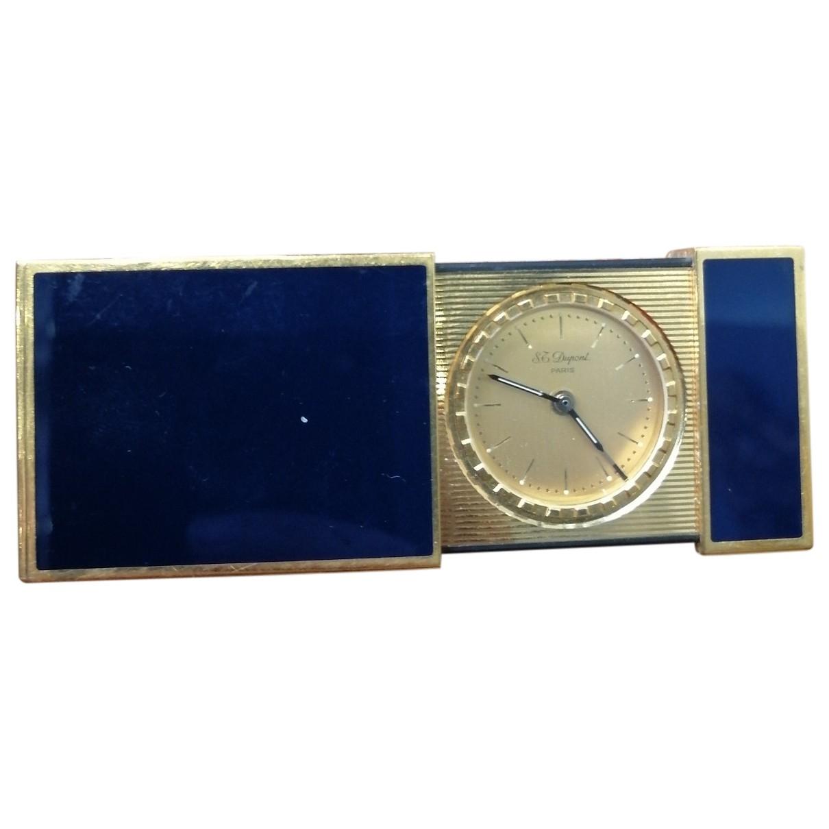 S.t. Dupont - Objets & Deco   pour lifestyle en plaque or - bleu