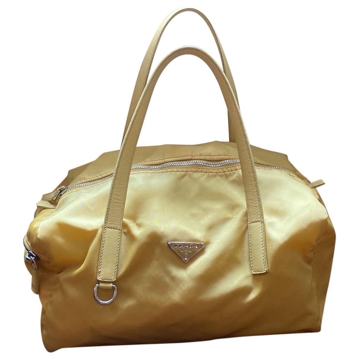 Prada \N Yellow handbag for Women \N