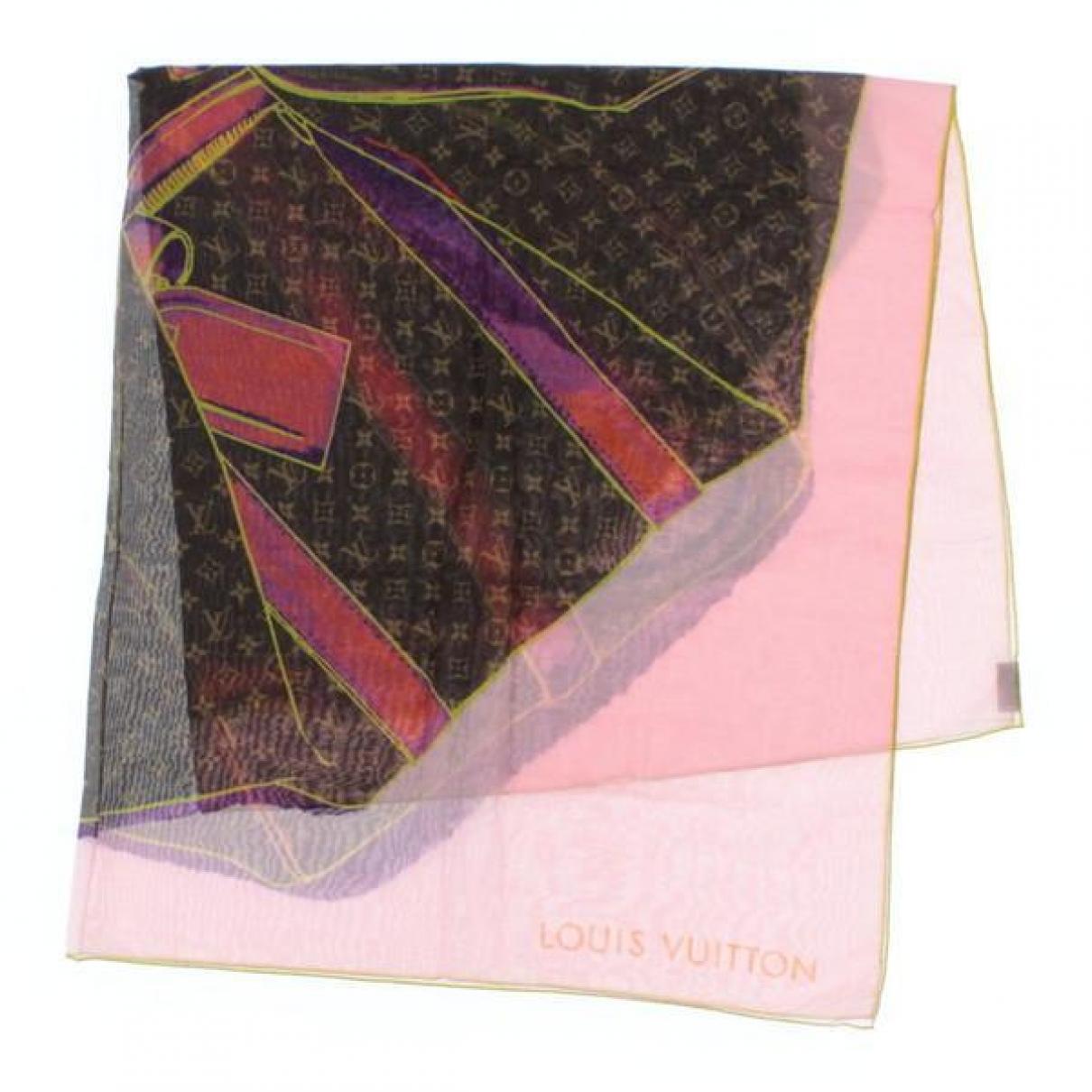 Louis Vuitton \N Schal in  Bunt Baumwolle
