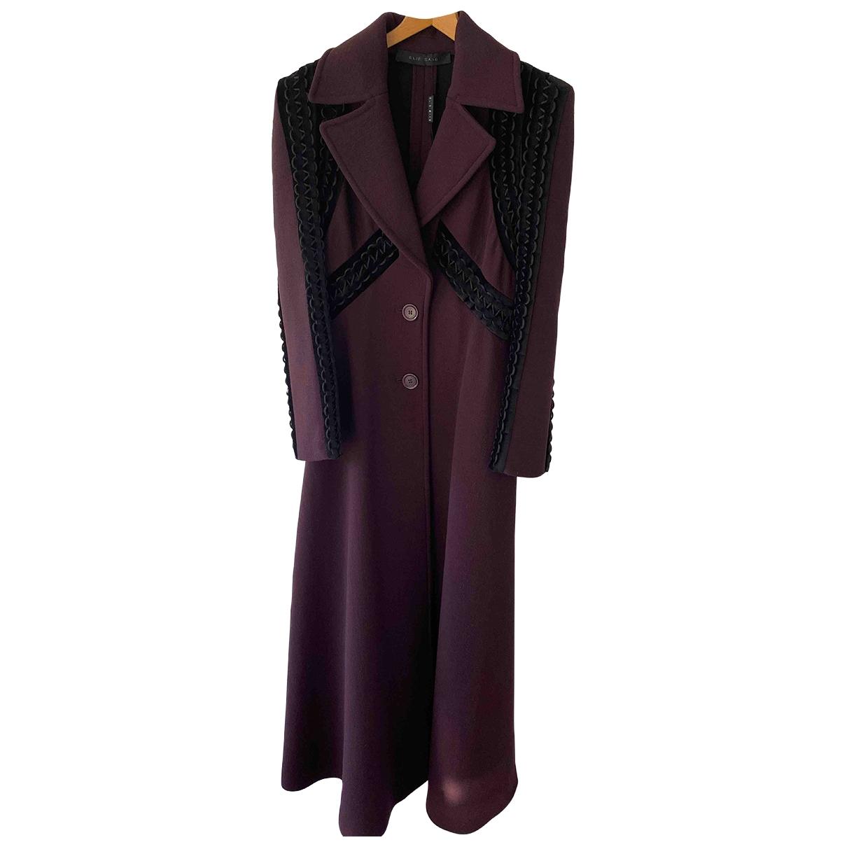 Elie Saab \N Multicolour Wool coat for Women 36 FR