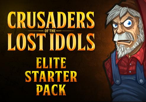 Crusaders of the Lost Idols - Elite Starter Pack DLC Steam CD Key