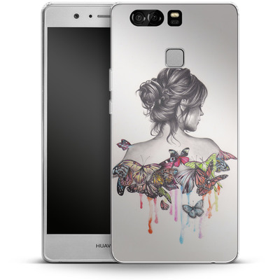 Huawei P9 Silikon Handyhuelle - Butterfly Effect von Kate Powell