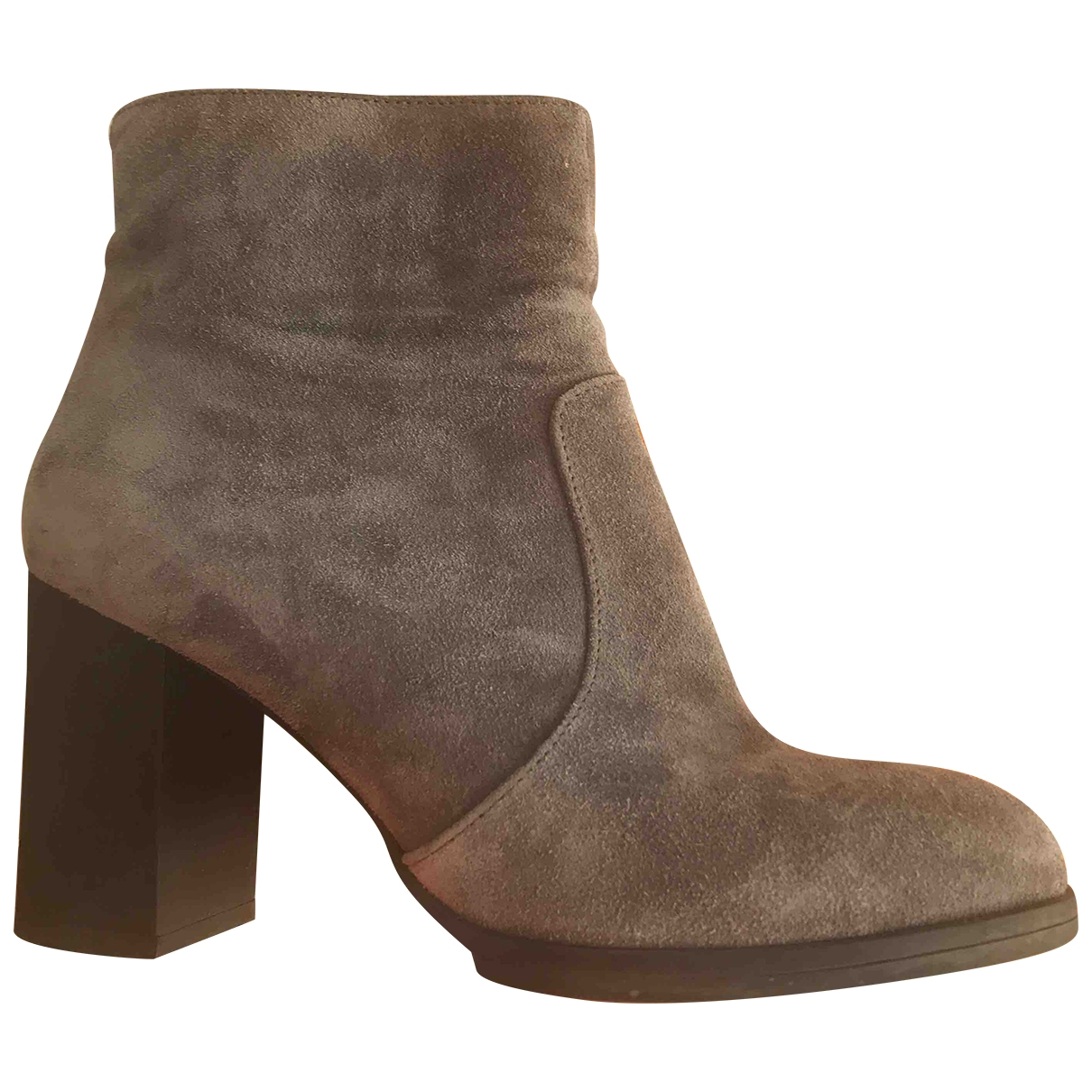 Tod's \N Grey Suede Ankle boots for Women 39 EU