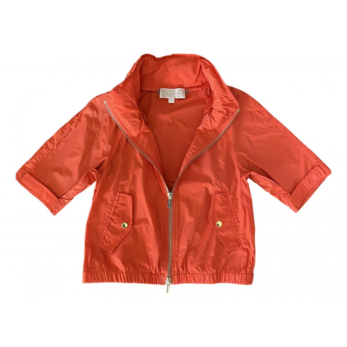 Michael Kors - Veste   pour femme - orange