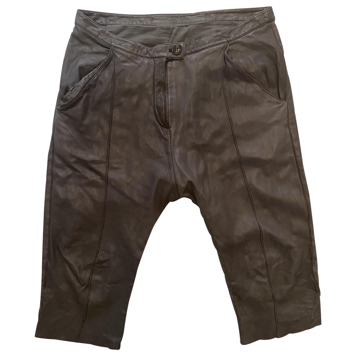 Pantalon de Cuero Drome