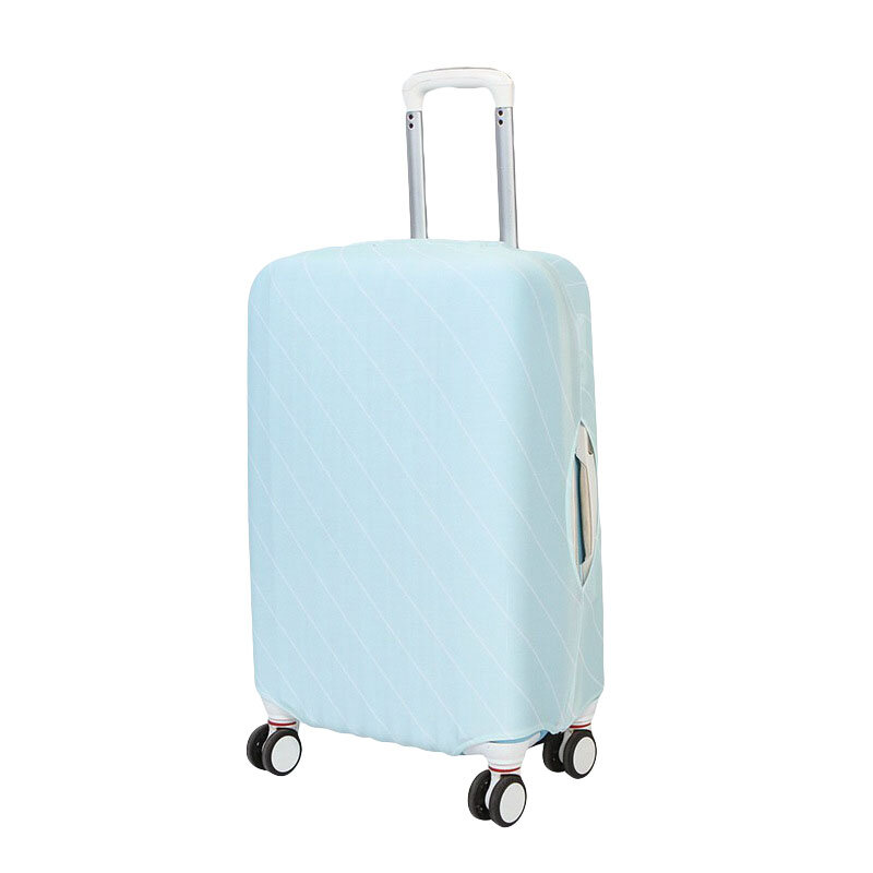 Honana 2017 Solid Color Elastic Luggage Cover Trolley Case Cover Durable Suitcase Protector