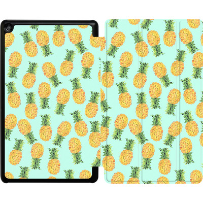 Amazon Fire HD 8 (2018) Tablet Smart Case - Pineapple von Amy Sia