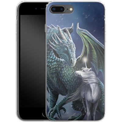 Apple iPhone 7 Plus Silikon Handyhuelle - Protector of Magic von Lisa Parker