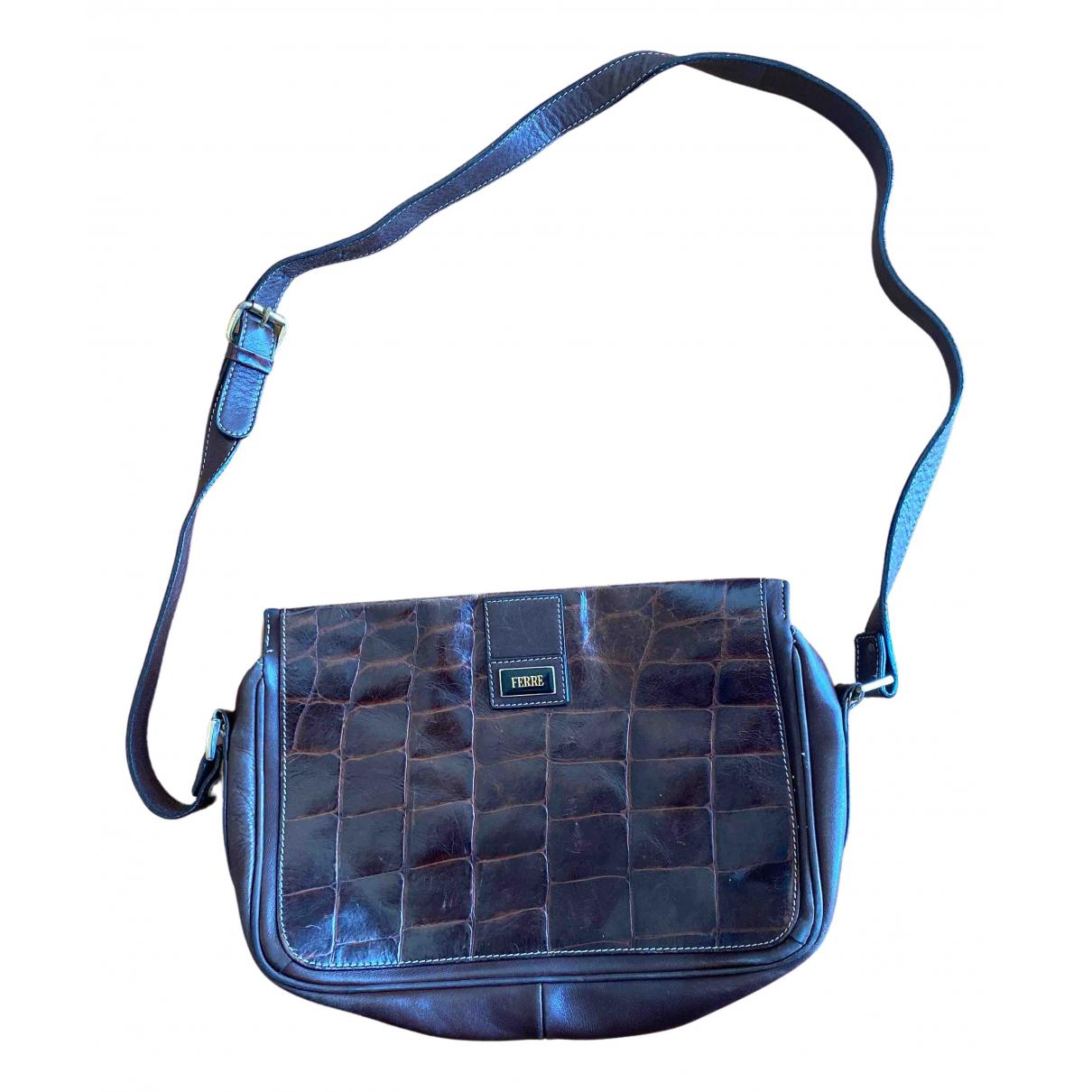 Gianfranco Ferré N Brown Leather handbag for Women N