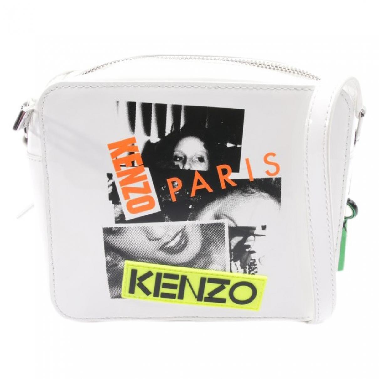 Kenzo \N White Leather Clutch bag for Women \N