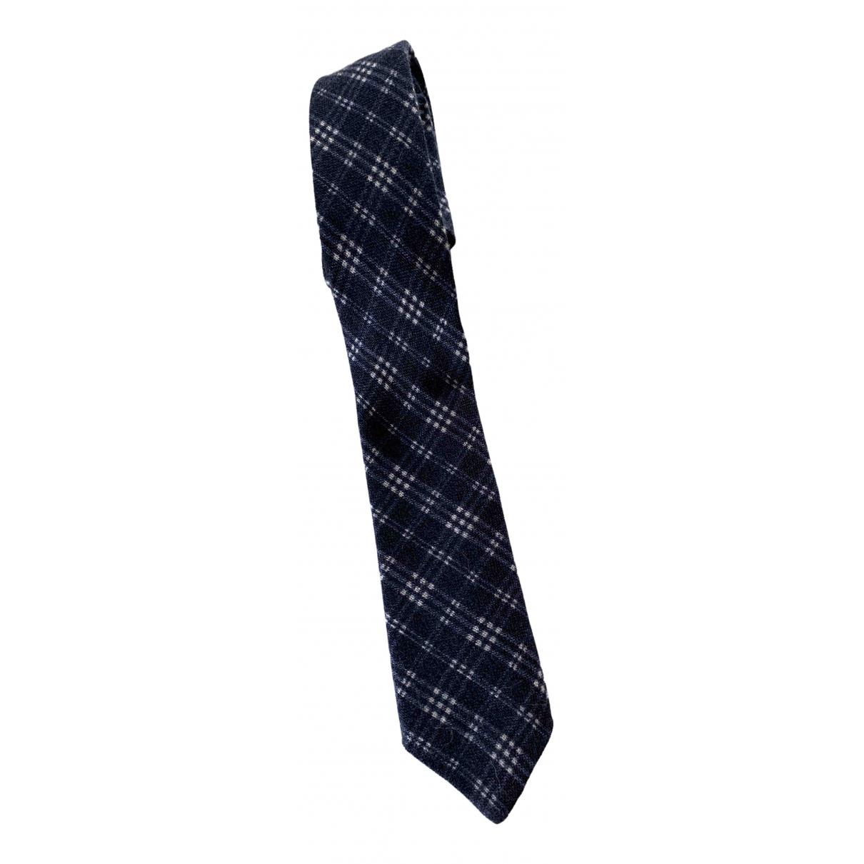 Gant Rugger \N Krawatten in  Blau Wolle