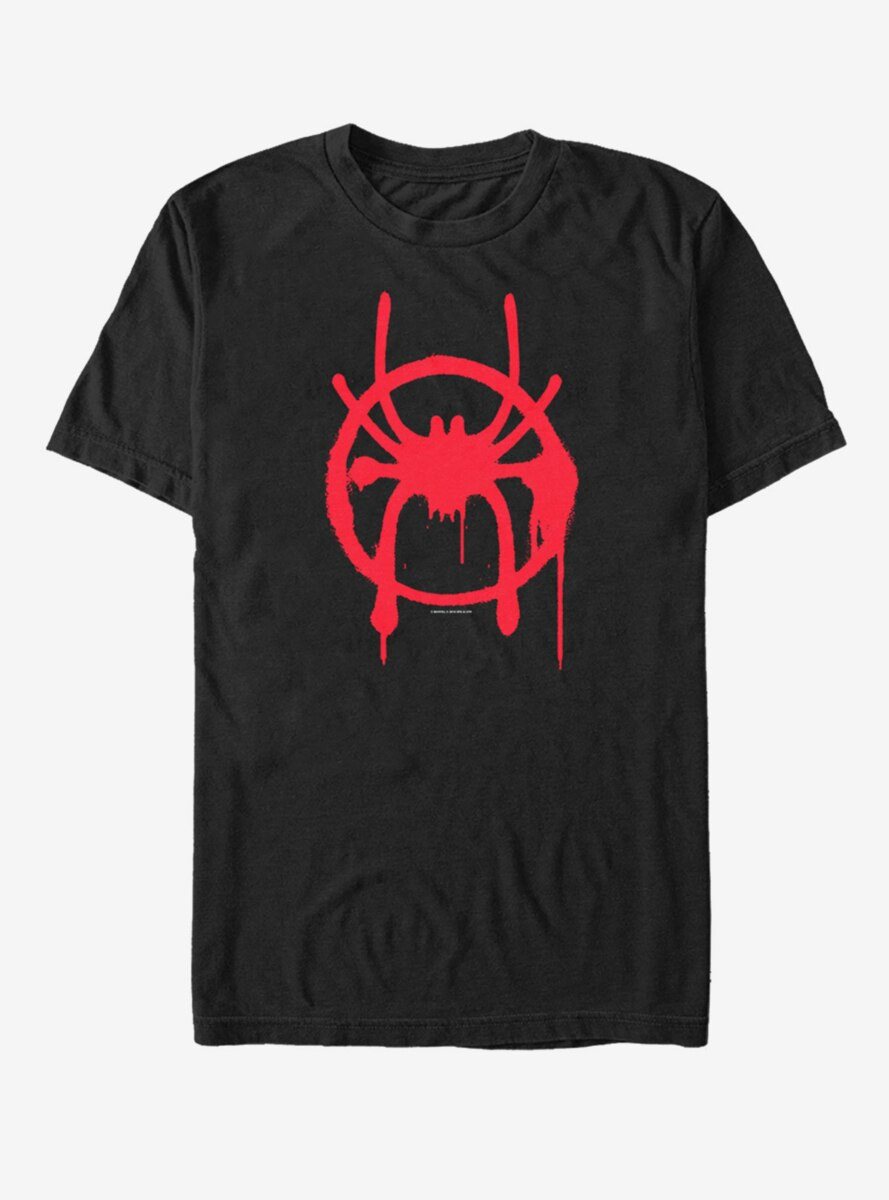 Marvel Spider-Man: Into the Spider-Verse Miles Symbol T-Shirt