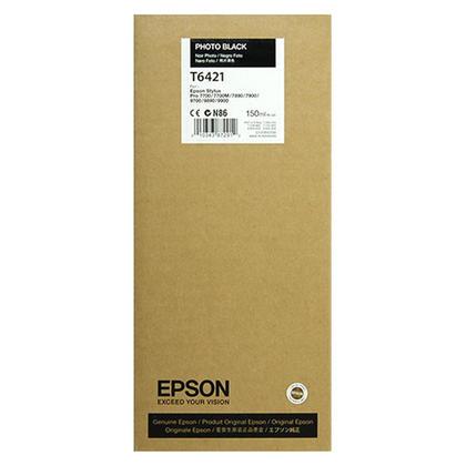 Epson T642100 cartouche d'encre originale photo noire