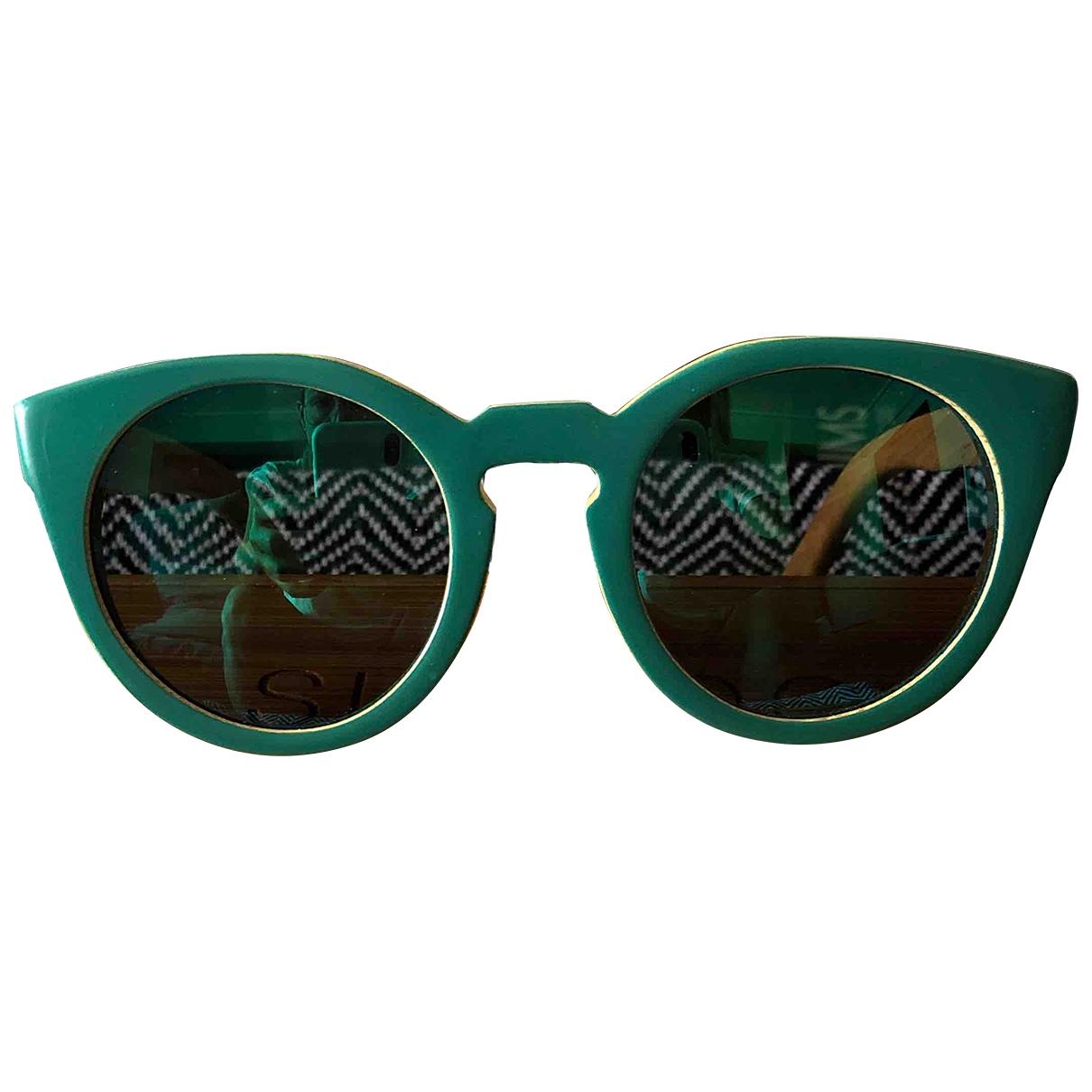 - Lunettes   pour femme en bois - vert