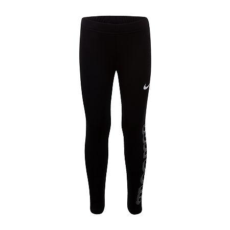 Nike Little Girls Legging, 4 , Black