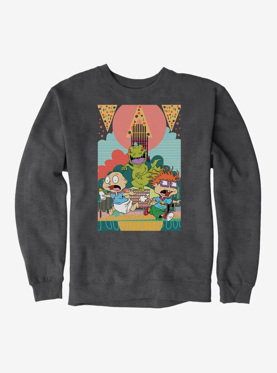 Rugrats Tommy And Chuckie Run Away Sweatshirt