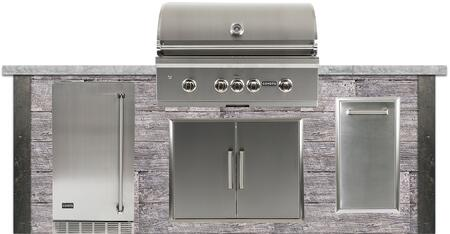 RTAC-G8-P-WG 8 ft. Grill Island with 36