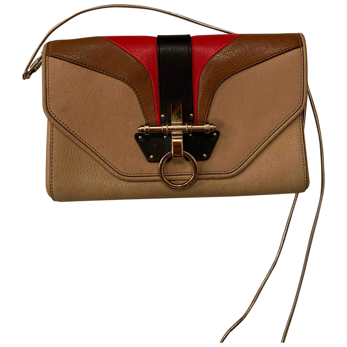 Givenchy \N Clutch in  Bunt Leder
