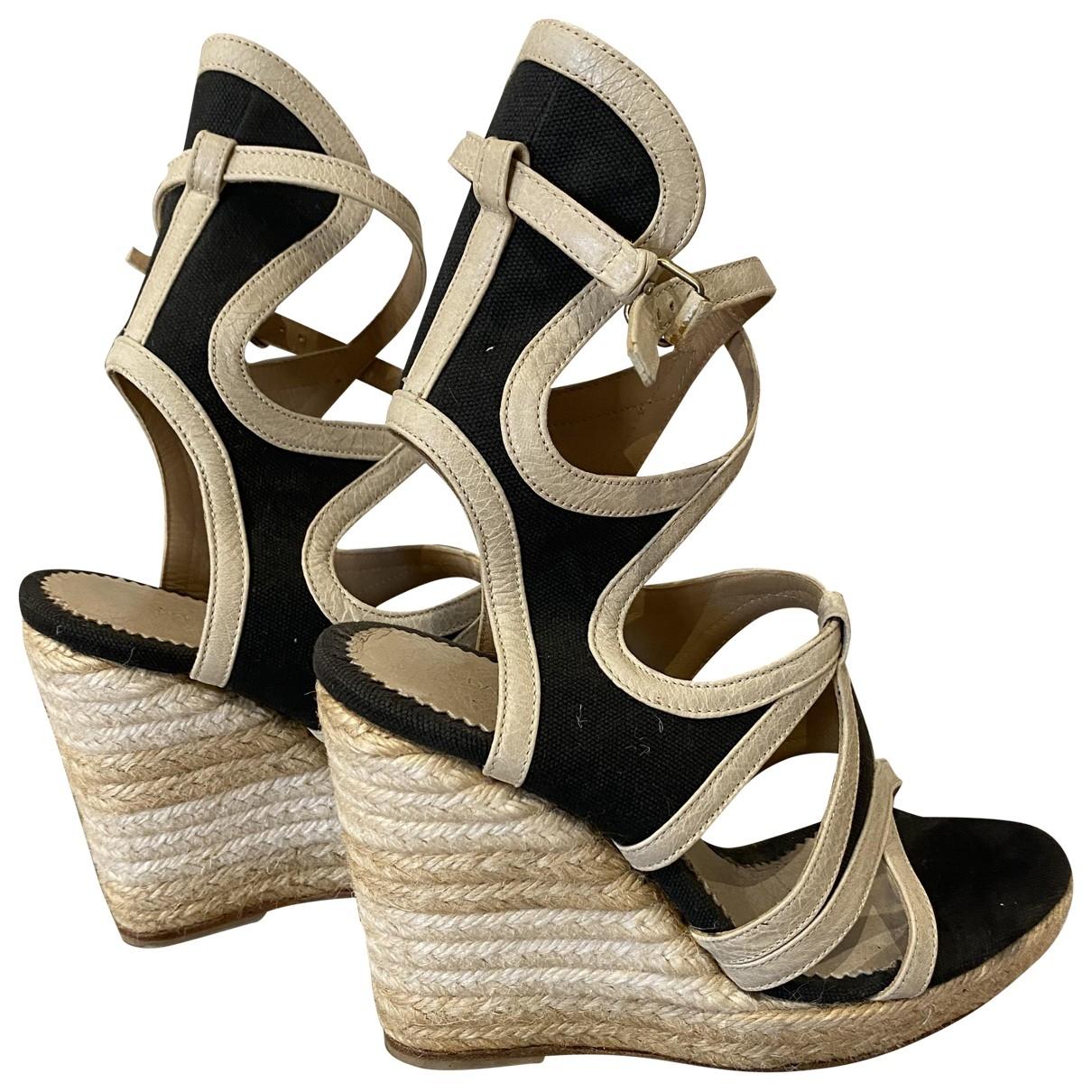 Sandalias de Lona Balenciaga