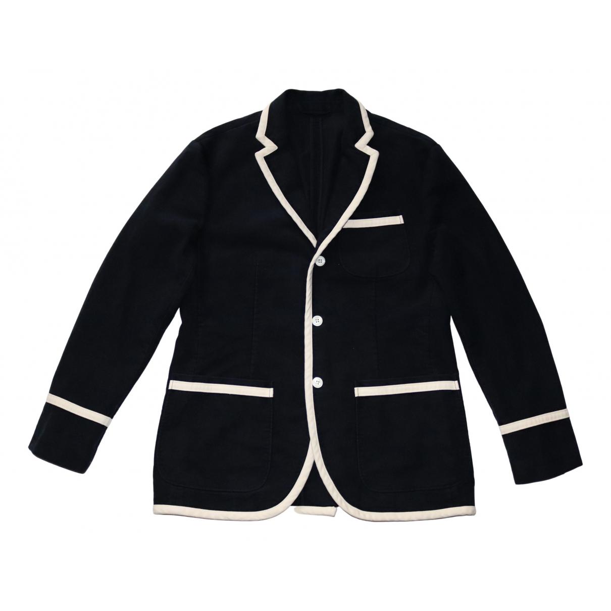 Polo Ralph Lauren N Navy Cotton jacket  for Men 40 UK - US
