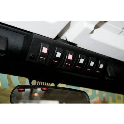 SPOD SourceLT LED 6-Switch Panel (Blue) - SL-0918-JK-B