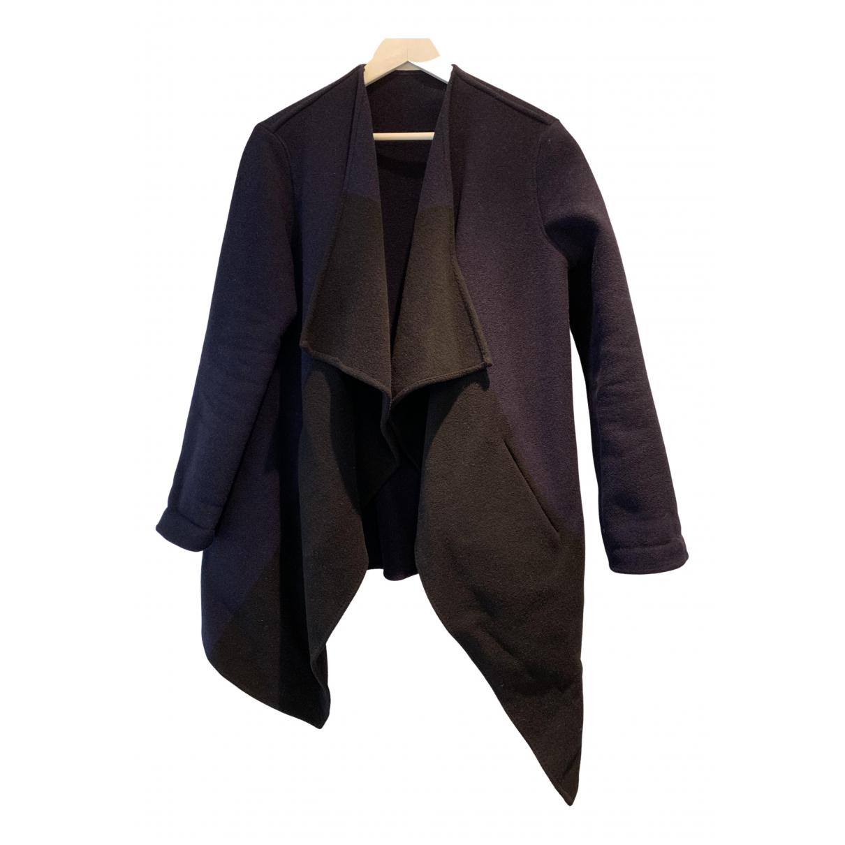 Closed - Manteau   pour femme en laine - bleu
