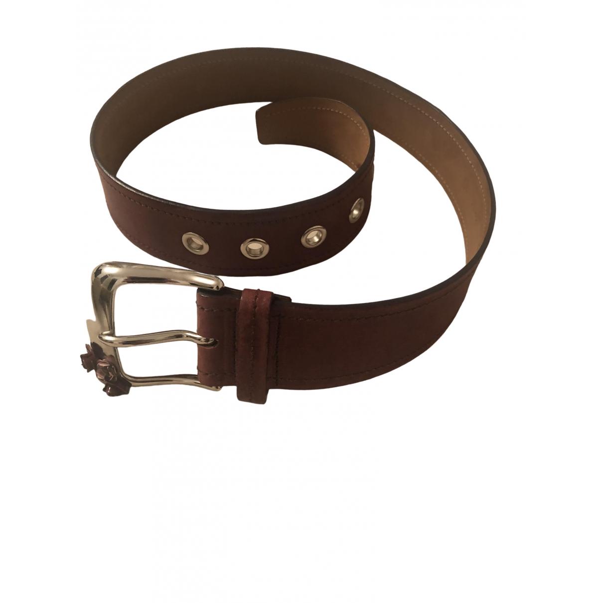 Miu Miu \N Pink Leather belt for Women 70 cm