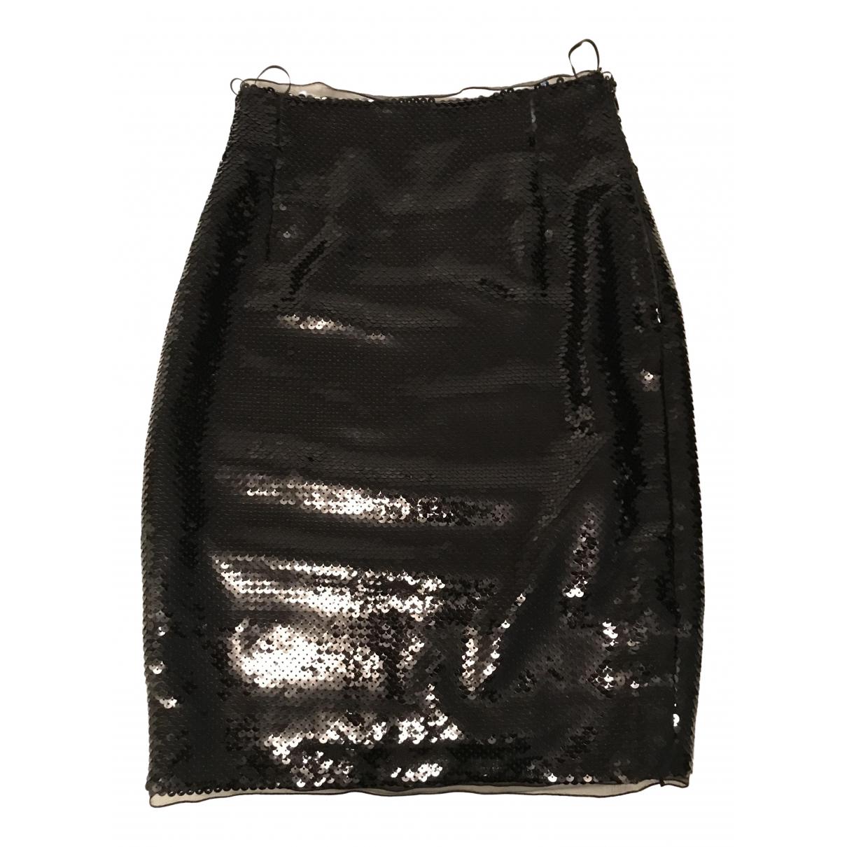 Falda midi de Con lentejuelas Moschino