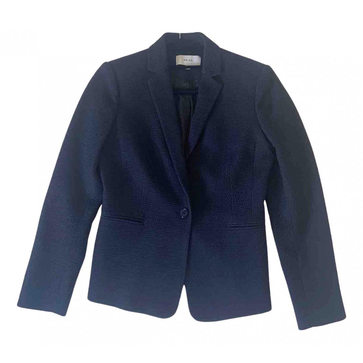 Reiss \N Jacke in  Blau Polyester