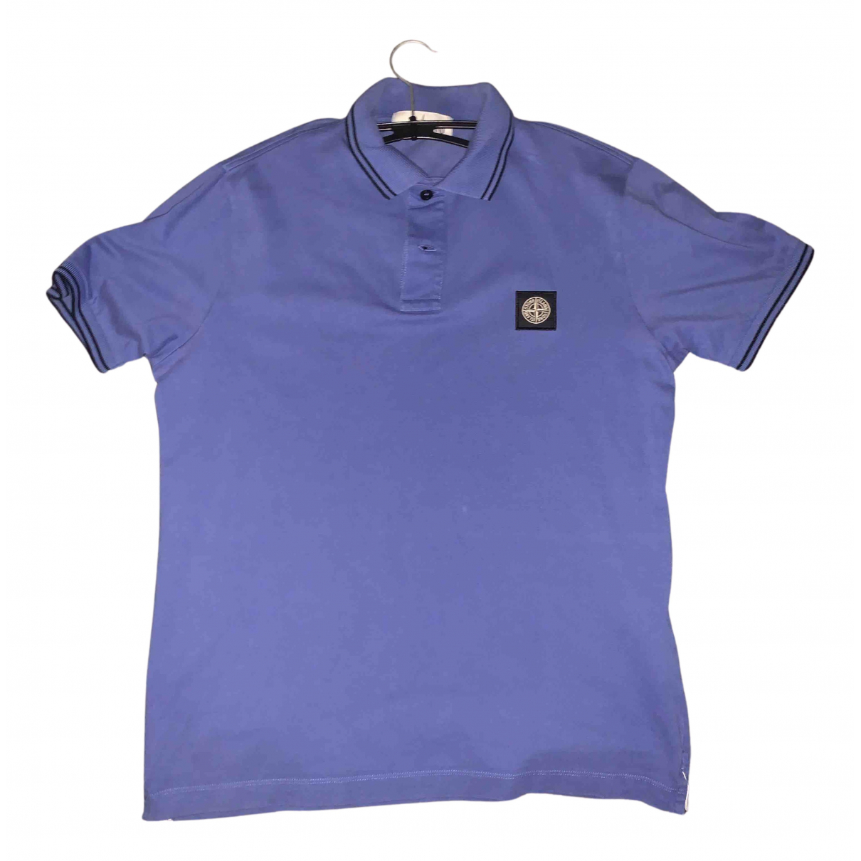 Stone Island N Blue Cotton Polo shirts for Men L International