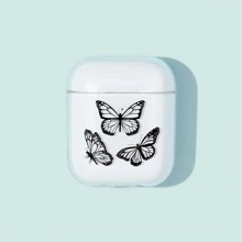 Butterfly Clear AirPods Case