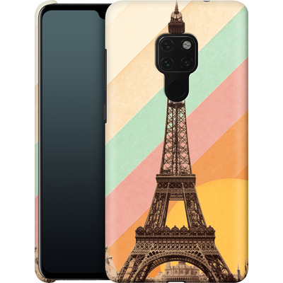 Huawei Mate 20 Smartphone Huelle - Eiffel Tower Rainbow von Florent Bodart