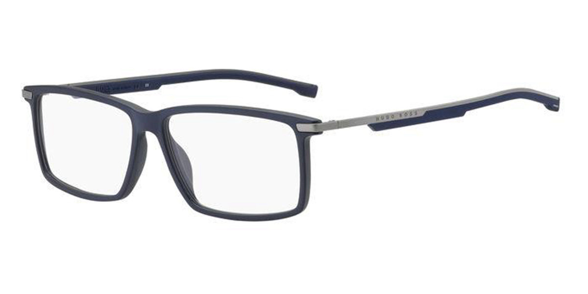 Boss by Hugo Boss Boss 1202 FLL Men's Glasses Blue Size 58 - Free Lenses - HSA/FSA Insurance - Blue Light Block Available