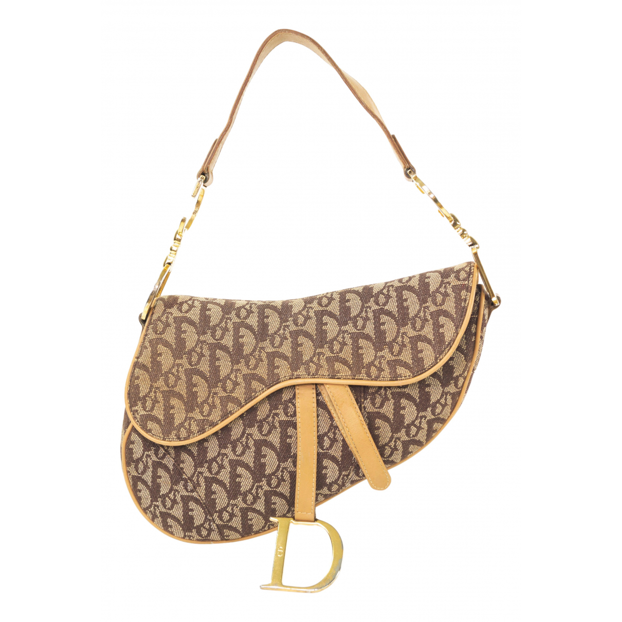 Dior Saddle Beige Cloth handbag for Women N