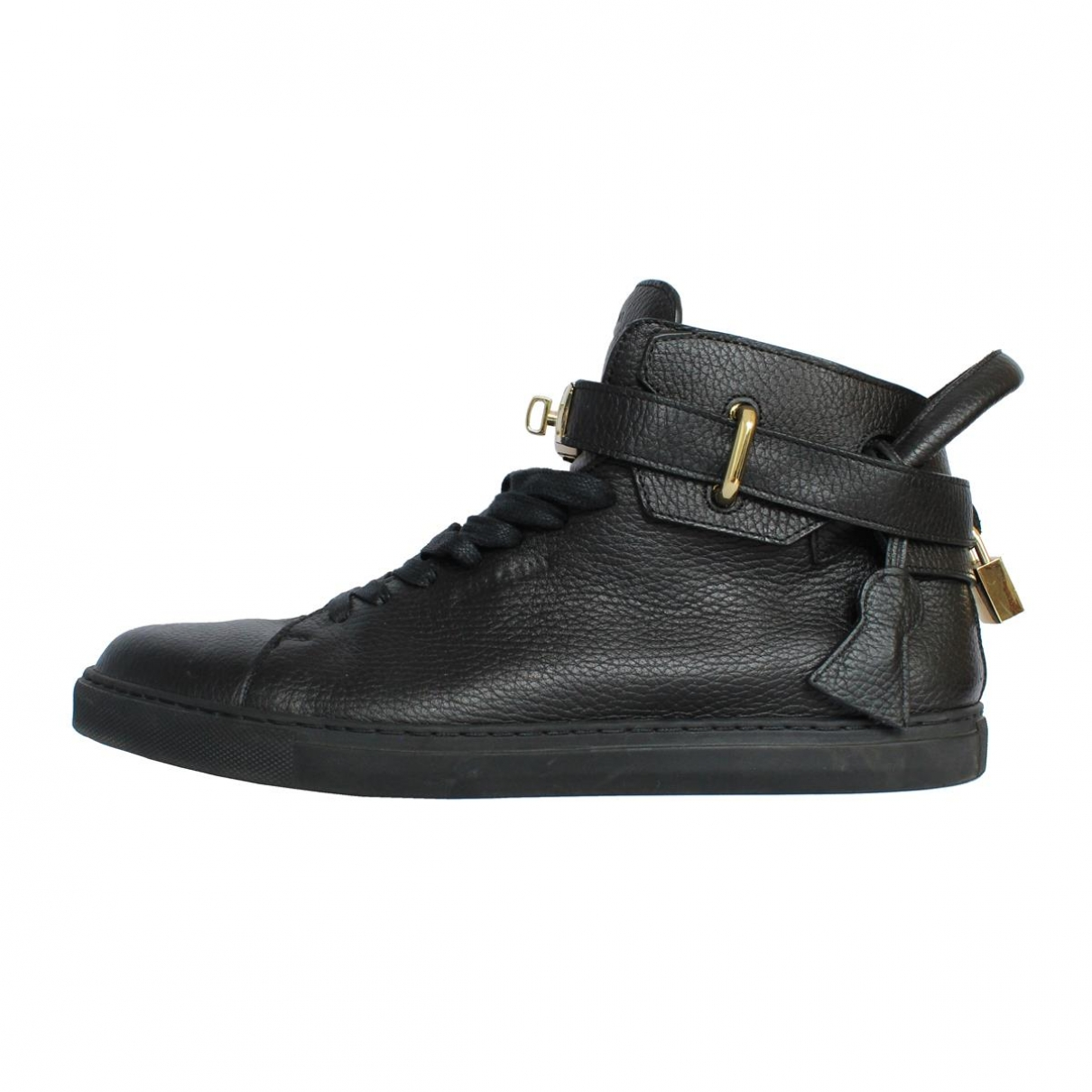 Buscemi \N Black Leather Trainers for Men 44 EU