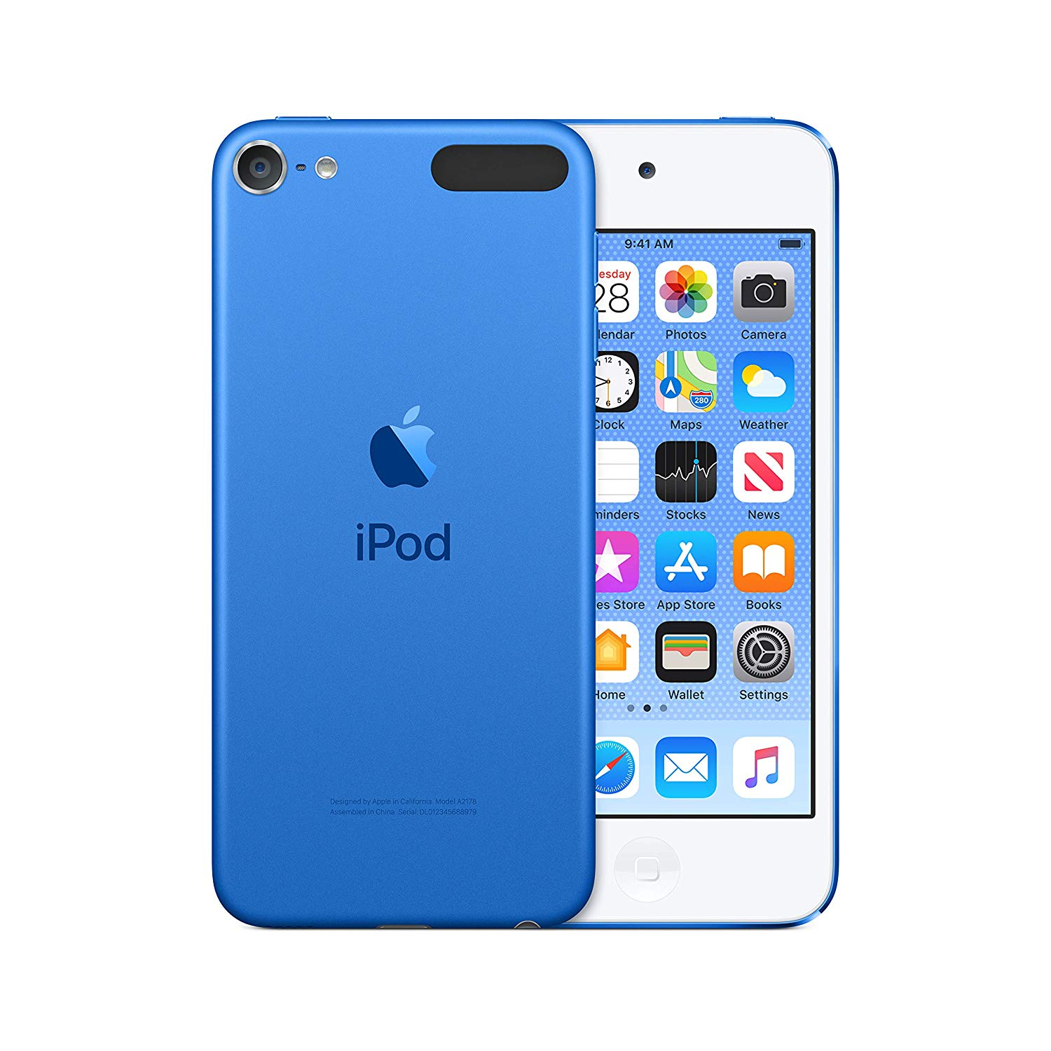 Apple iPod Touch 256GB Blue (7th Generation) - 2019
