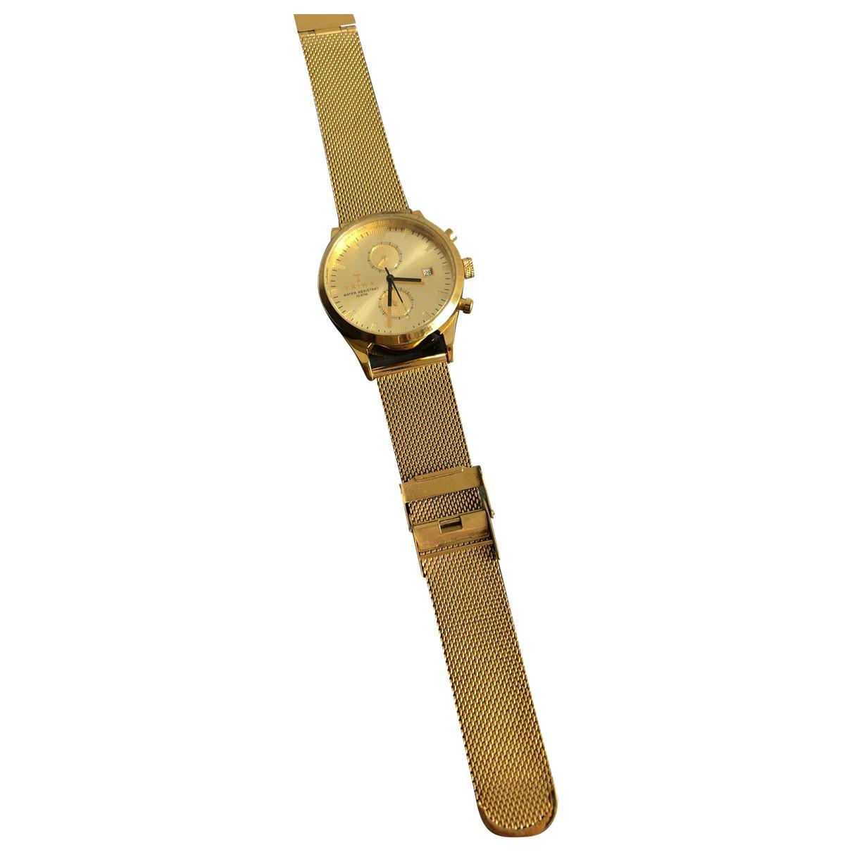 Triwa N Gold Steel watch for Women N