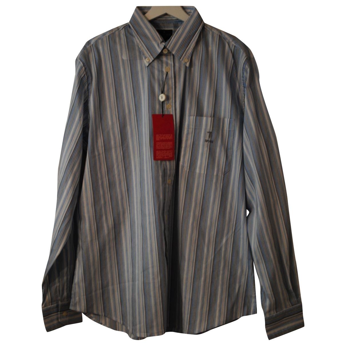 Trussardi \N Hemden in  Weiss Baumwolle