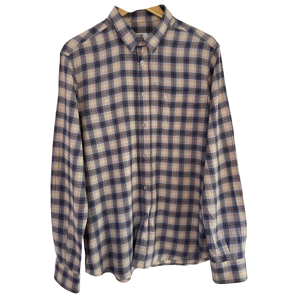 Moschino - Chemises   pour homme en coton - multicolore
