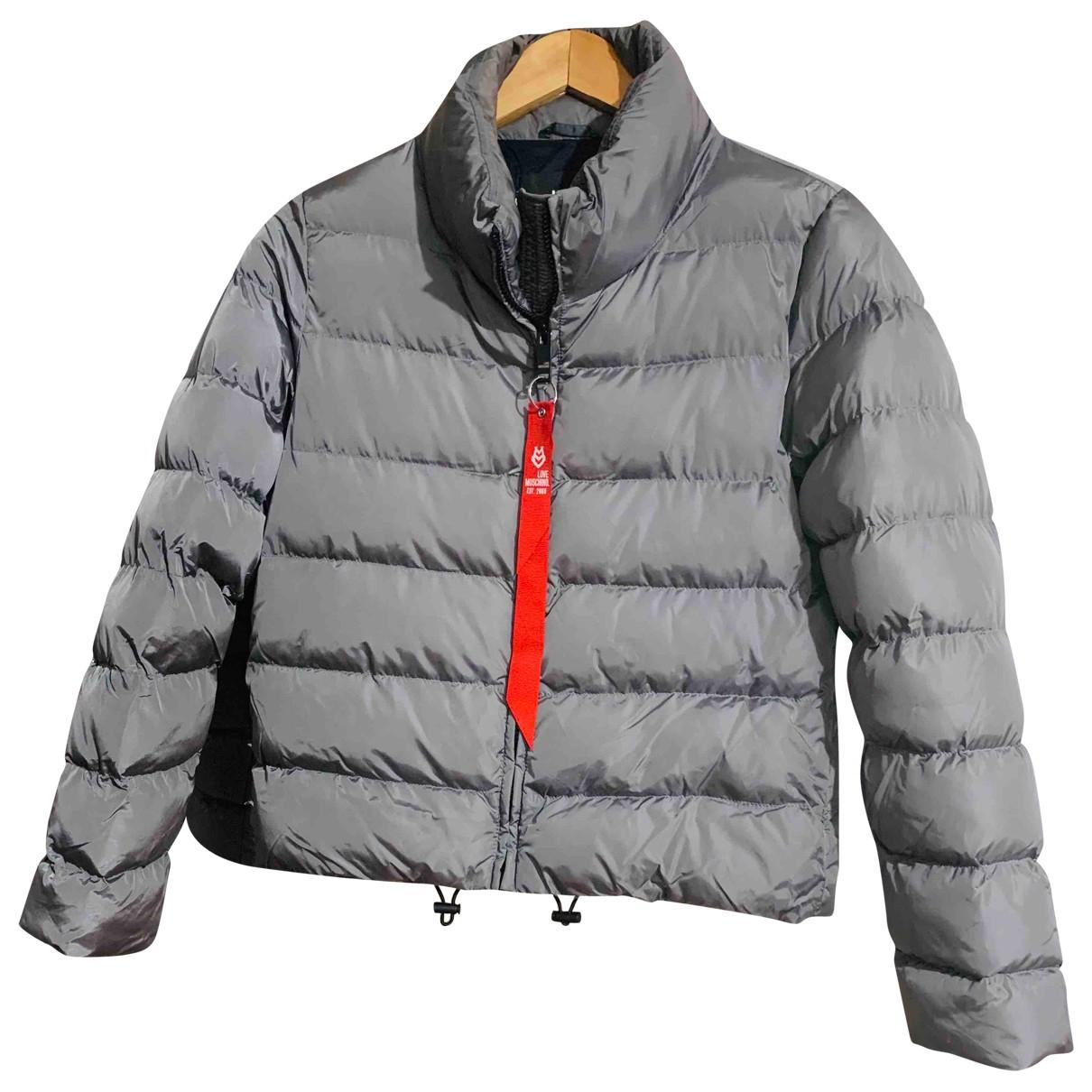Moschino Love \N Silver coat for Women 8 UK