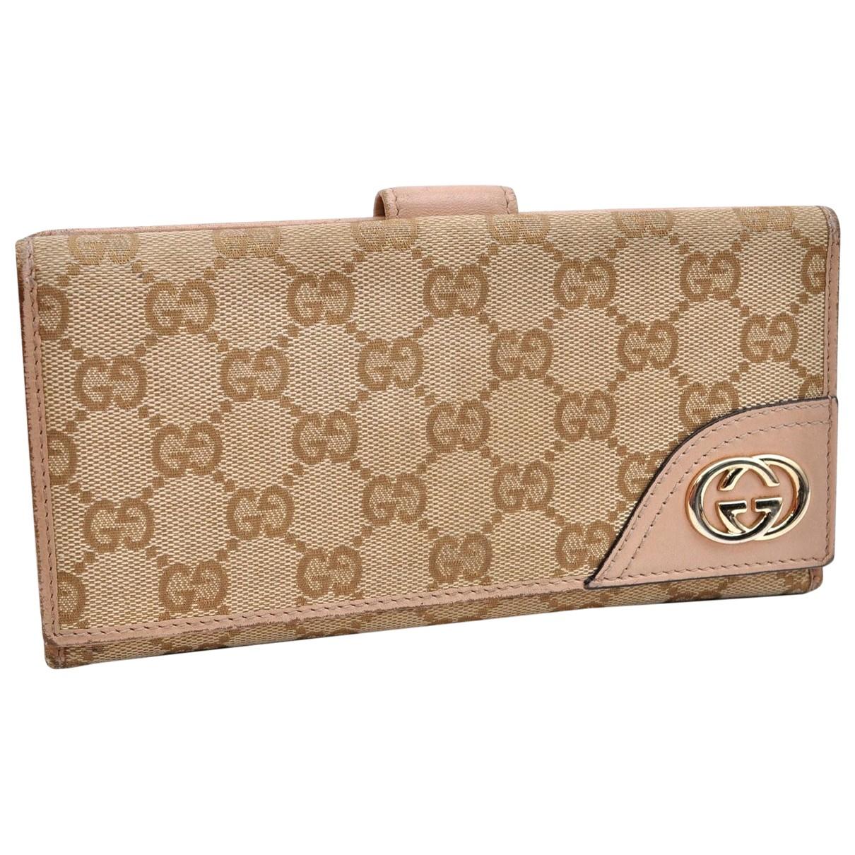 Gucci \N Beige wallet for Women \N