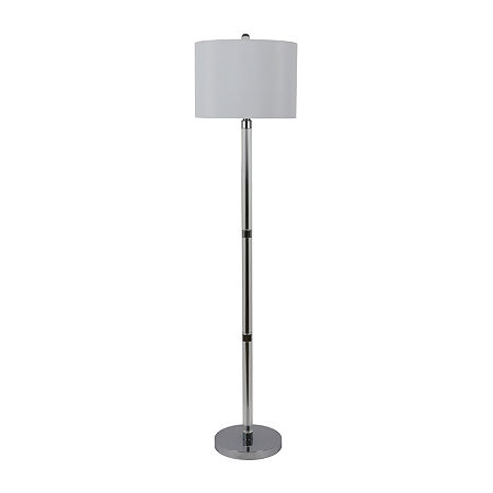 Decor Therapy Tripoly Crystal Table Lamp, One Size , White