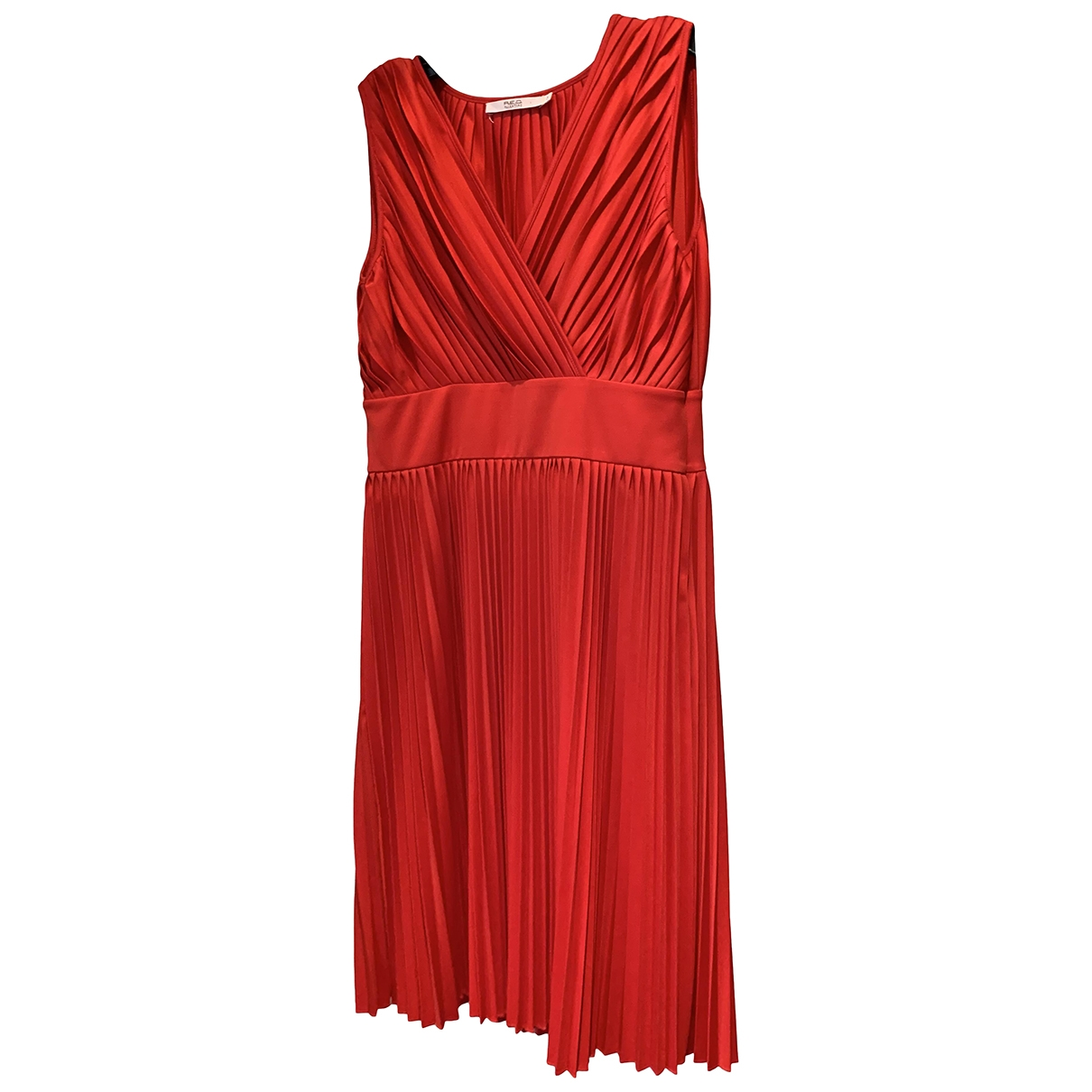 Red Valentino Garavani \N Kleid in  Rot Polyester
