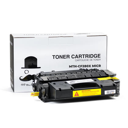 Compatible HP 80X CF280X MICR Black Toner Cartridge High Yield - Moustache®