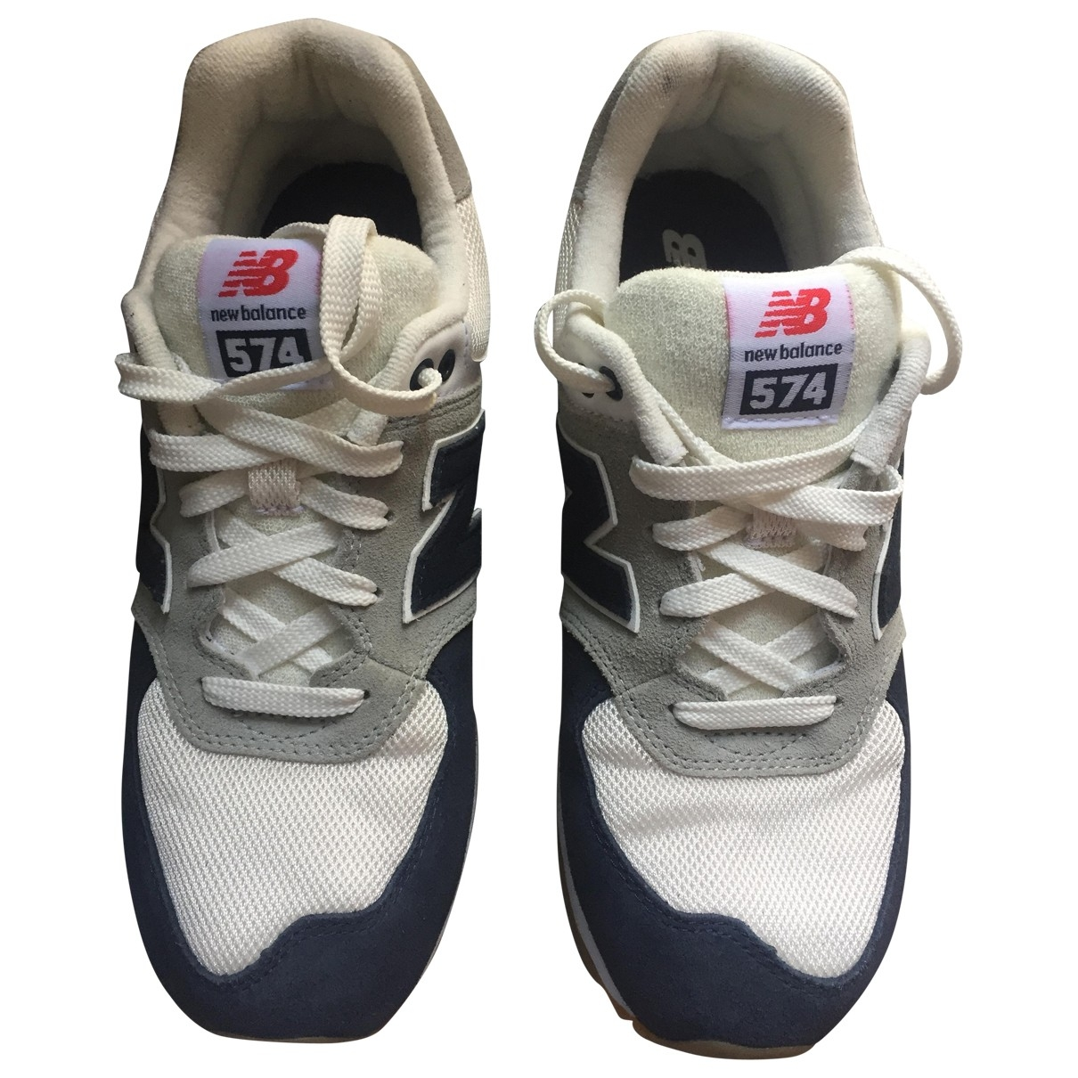 New Balance \N White Cloth Trainers for Kids 5.5 UK