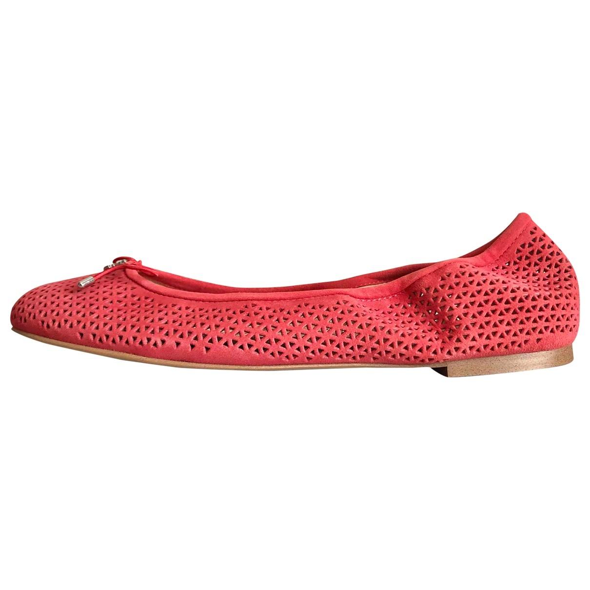 Sam Edelman \N Pink Suede Ballet flats for Women 9 US
