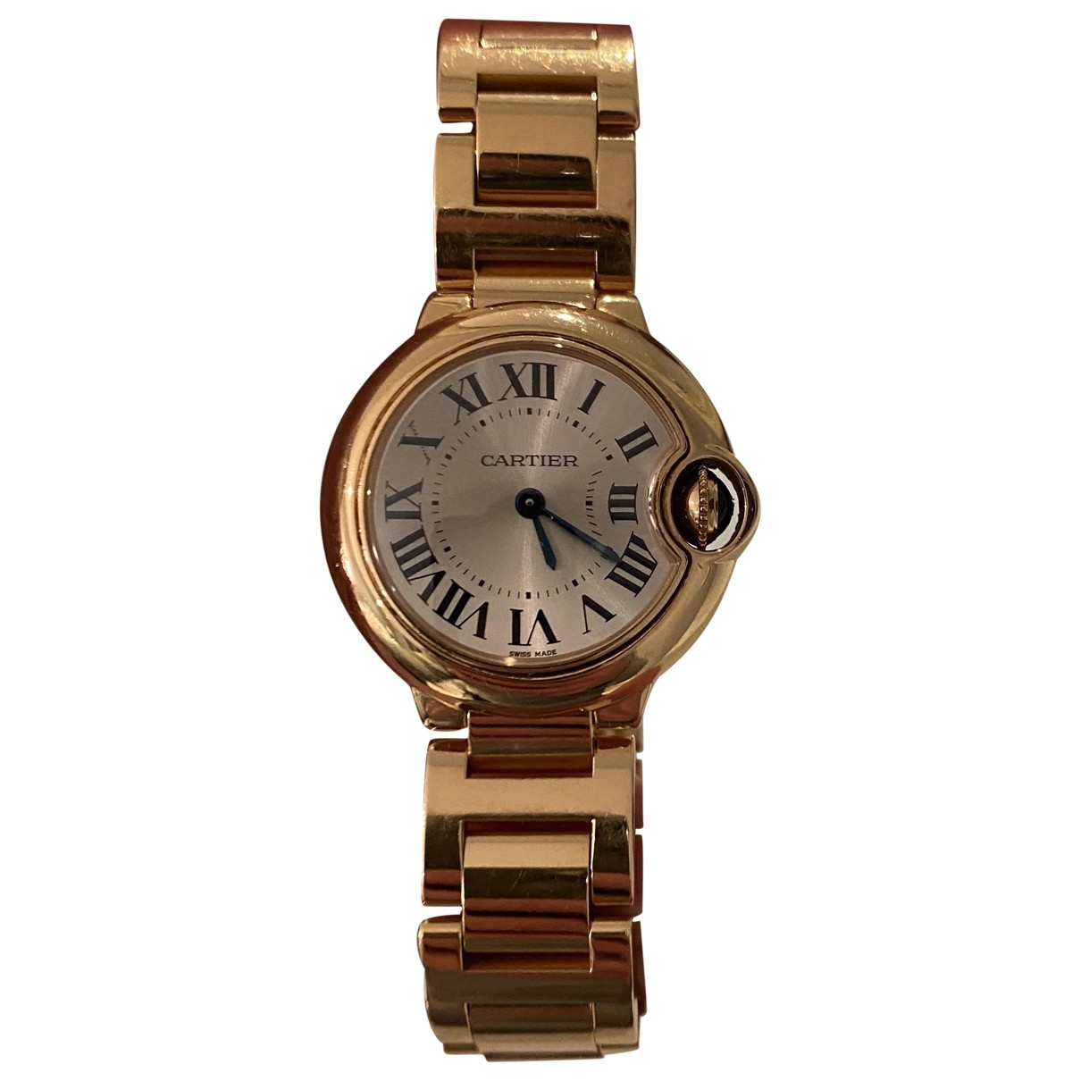 Cartier Ballon bleu Uhr in  Gold Rosegold