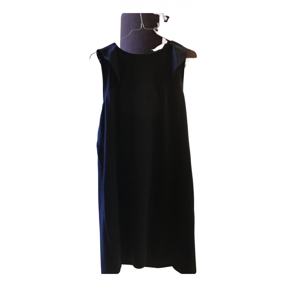 Tara Jarmon \N Kleid in  Marine Polyester